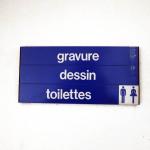 gravure dessin toilettes