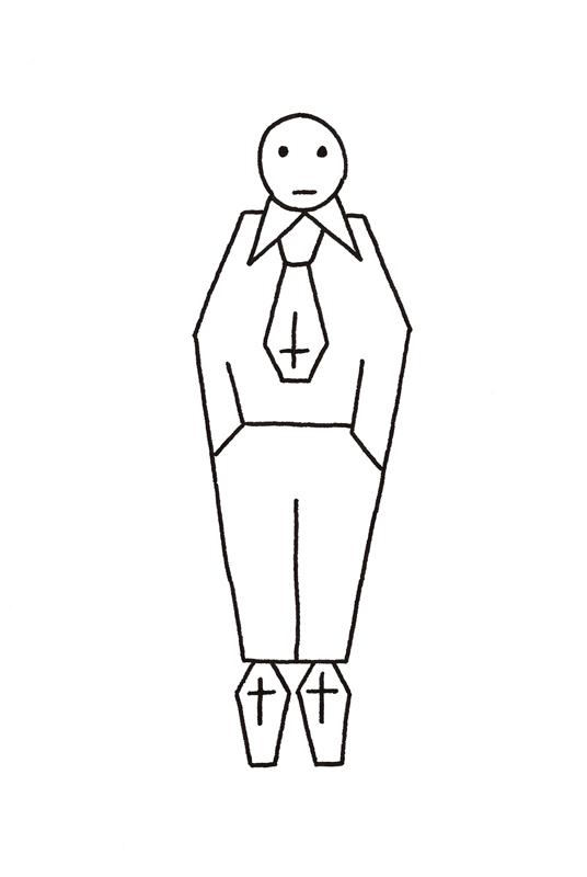 l'homme cercueil