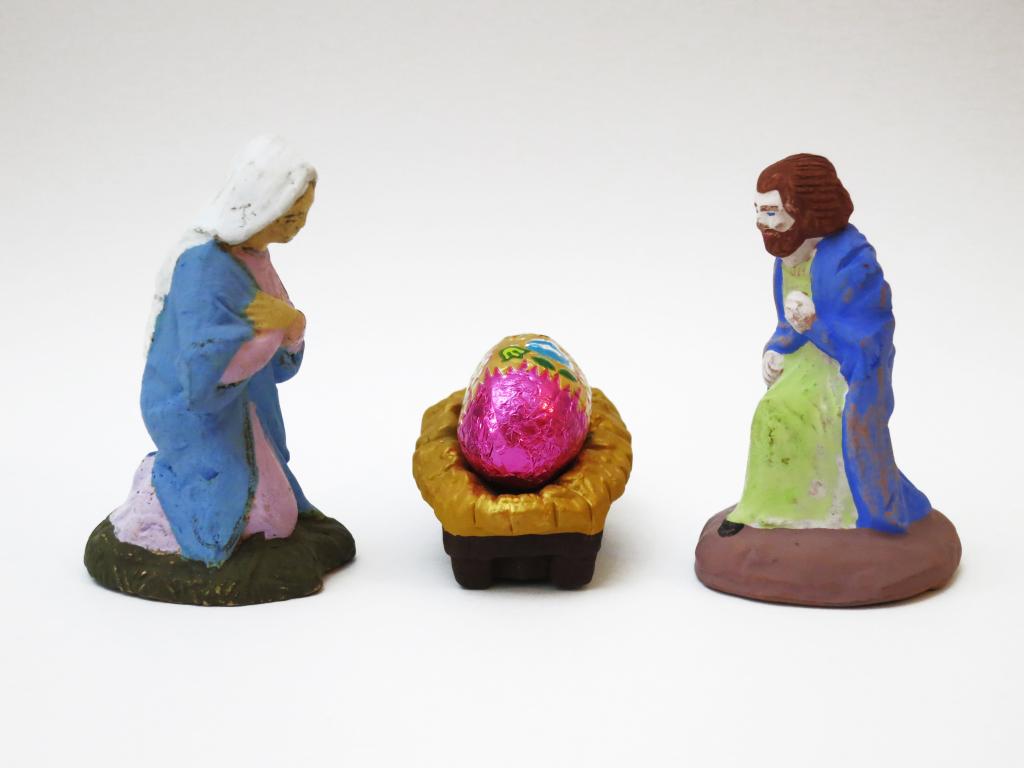 crèche de Pâques
