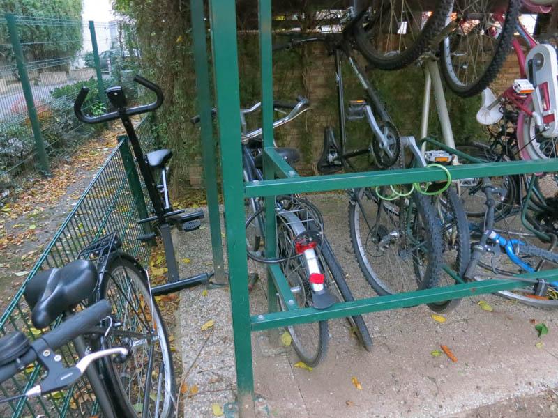 le vélo d'appartement qui se prenait pour un vrai vélo