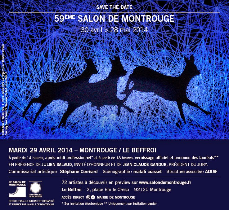 save the date Salon de Montrouge