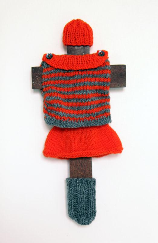 Poupée cruciforme