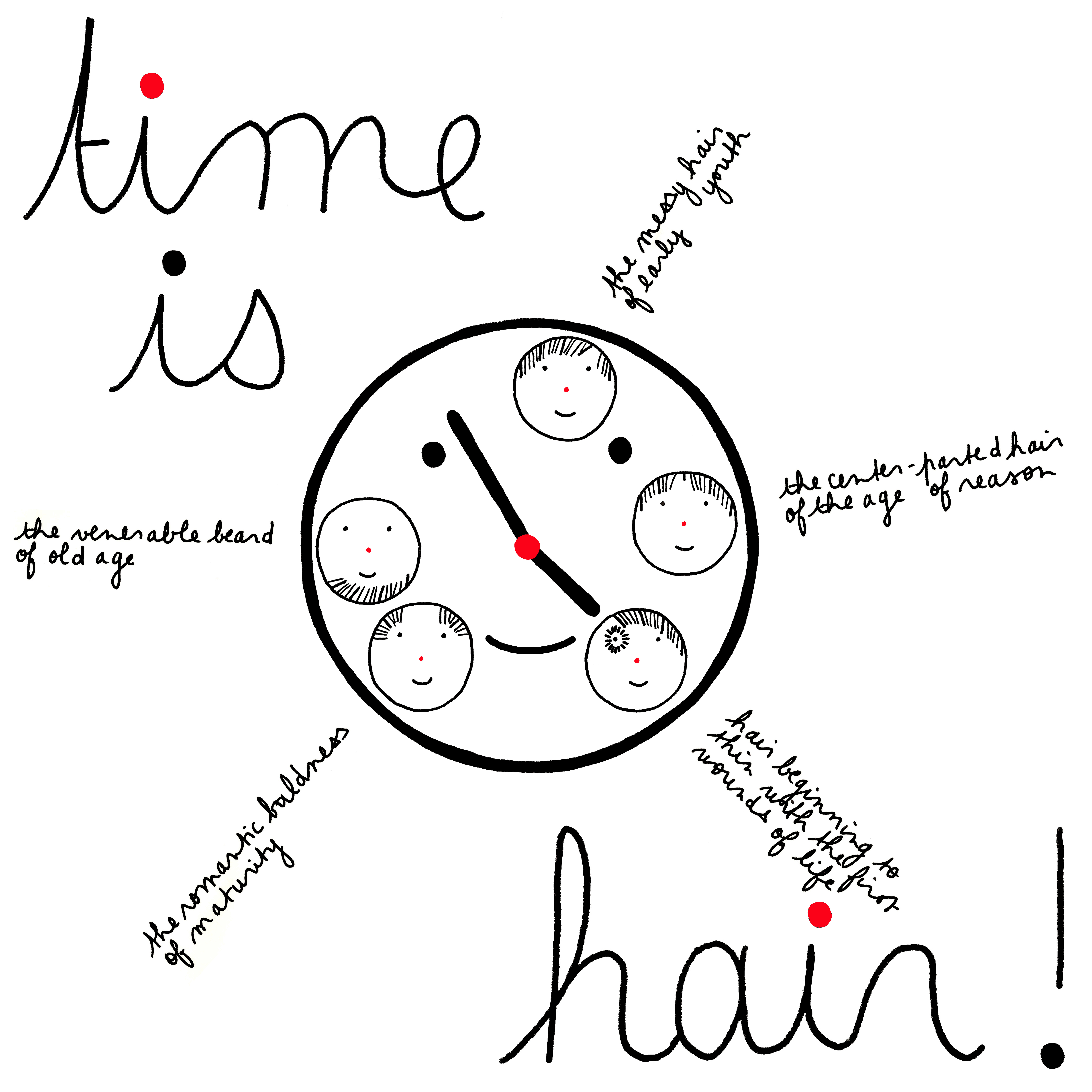 time is hair