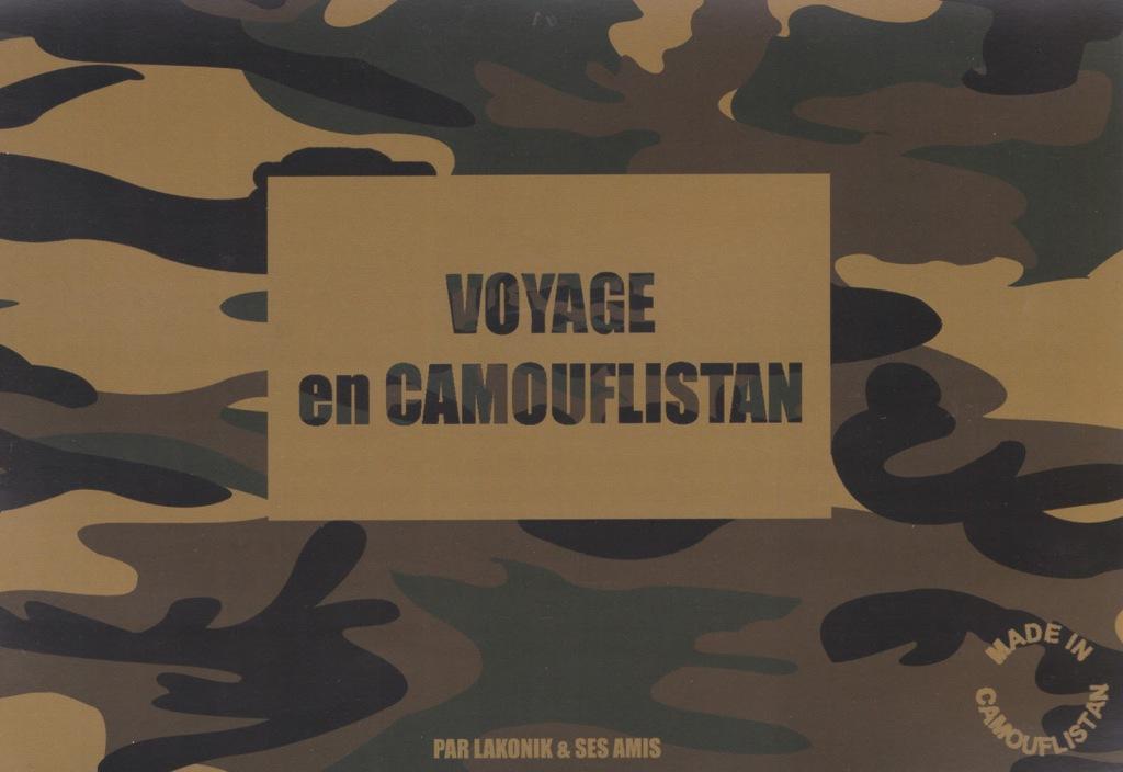 carton Voyage en Camouflistan 1