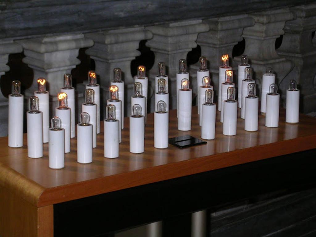 cierges électriques
