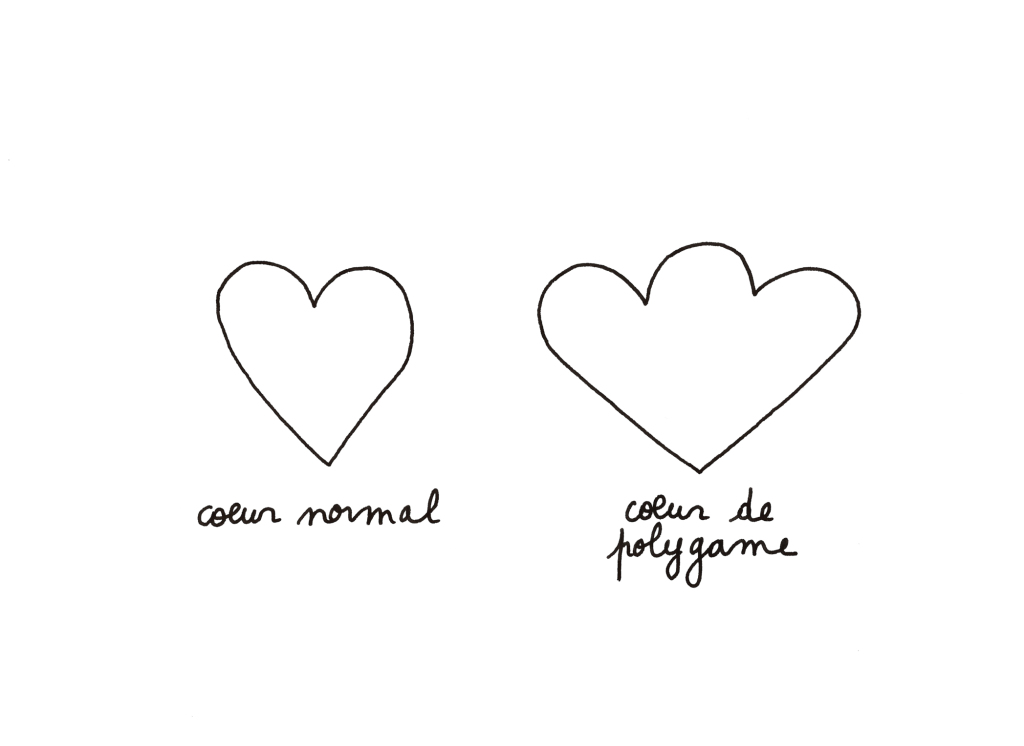 coeur de polygame