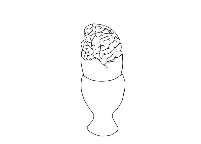 Oeuf cerveau