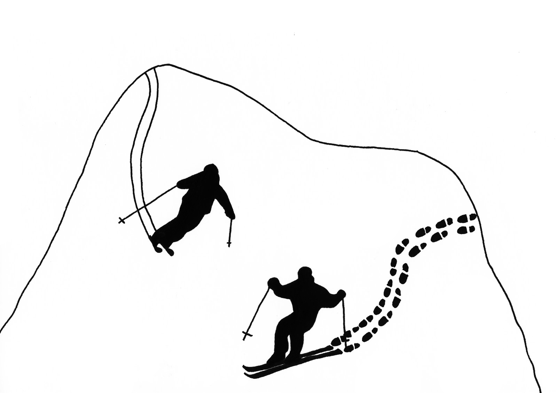 Louise Pressager Souvenir De Ski 2