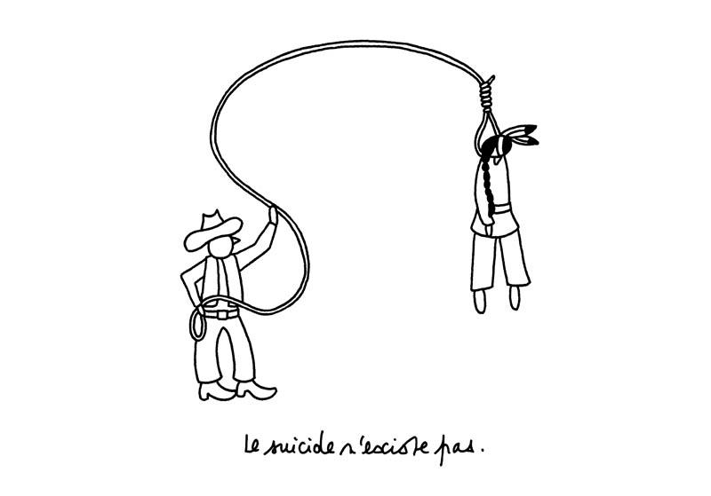 le suicide n'existe pas