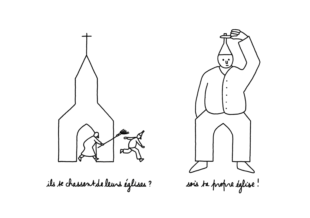 sois ta propre église