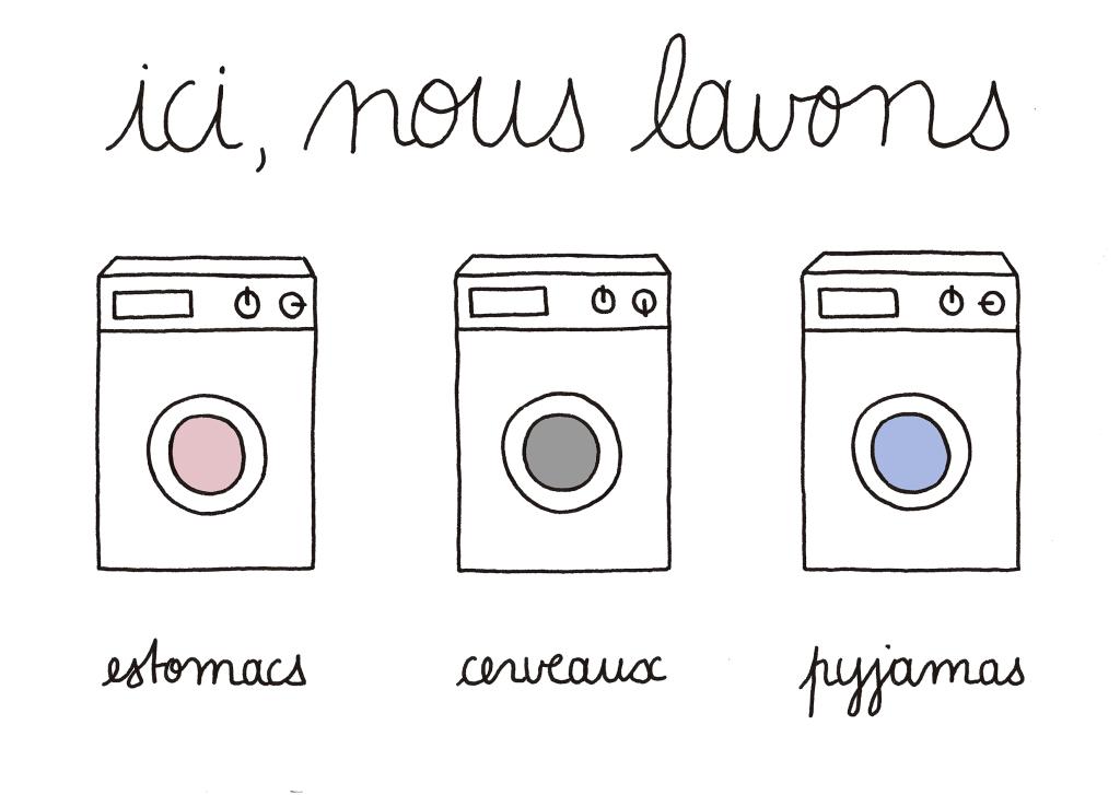 lavages séparés