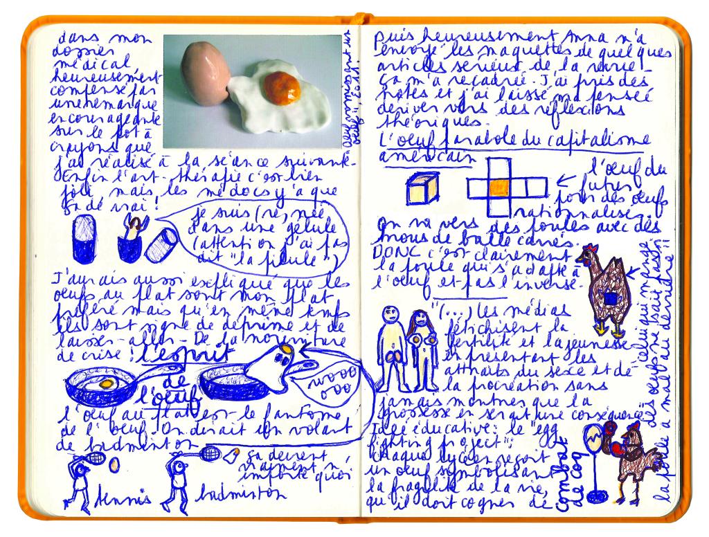 le carnet couleur jaune d'oeuf 2