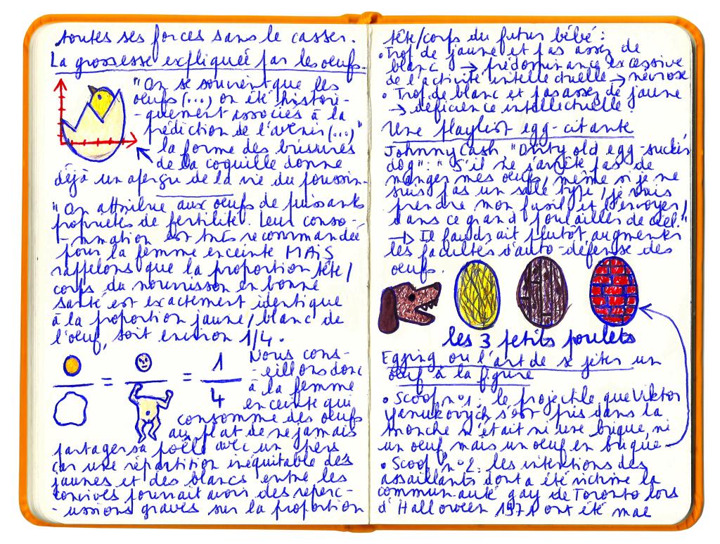 le carnet couleur jaune d'oeuf 3