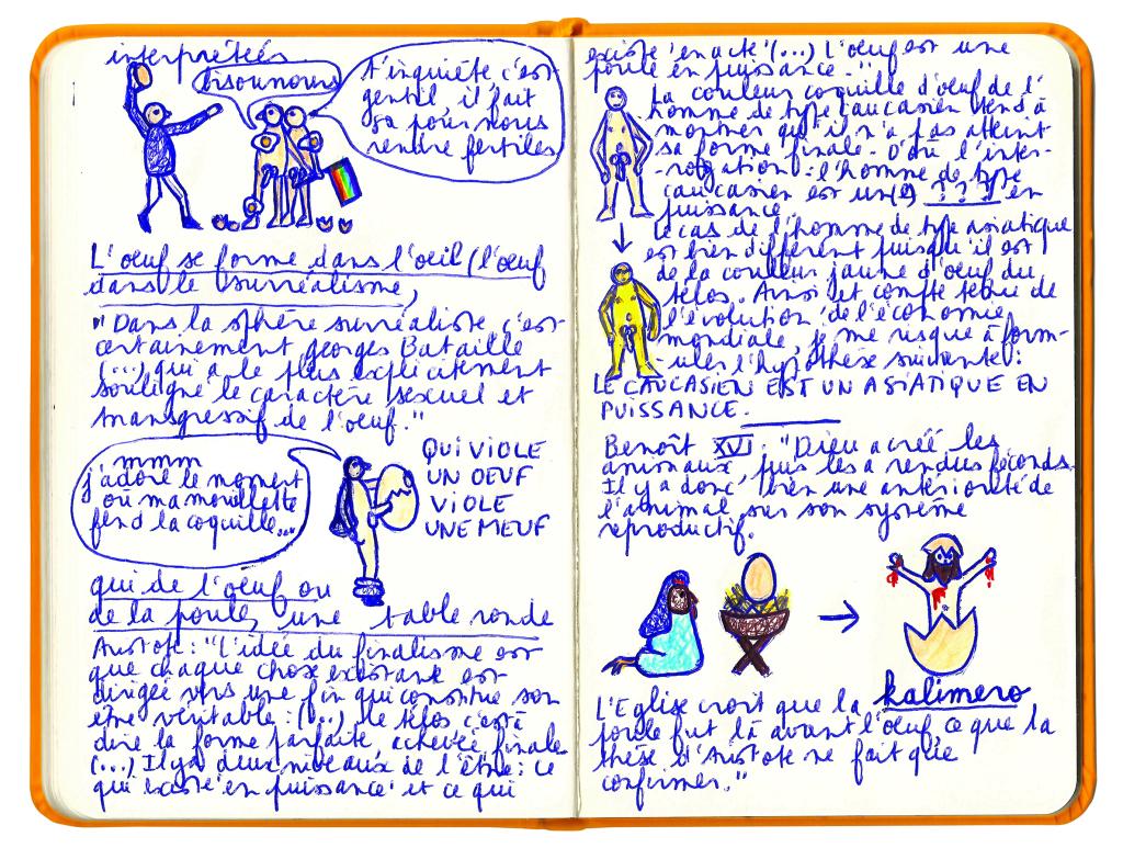 le carnet couleur jaune d'oeuf 4