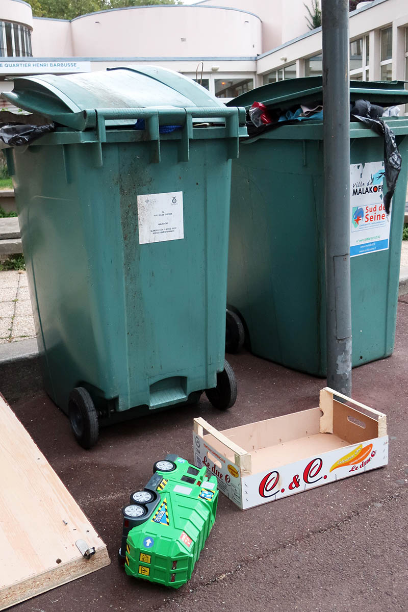 le poubelleur poubellé