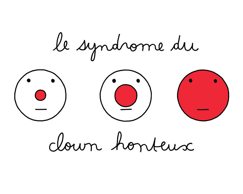 le syndrome du clown honteux