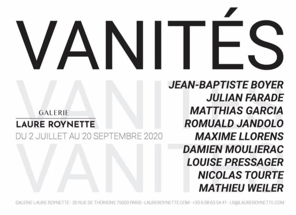 expo Vanités @ galerie Laure Roynette